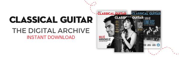 explore the classical guitar magazine archive